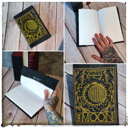 The Moon notebook