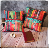 coussin bibliophile