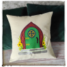Hobbit Door pillow