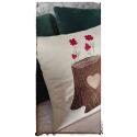 Flower tree cushion