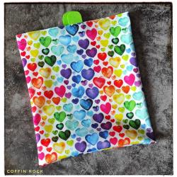 freezer bag - hearts