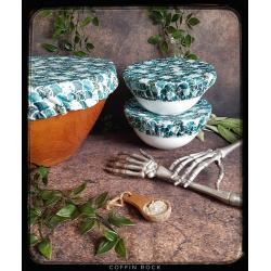 mermaid scales - bowl topper