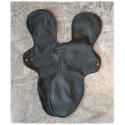 Kraken noire - très grande serviette lavable