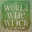 M - Robe witchy cristaux et gemmes magiques