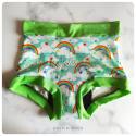 M - rainbows - Coffinshort - period panty