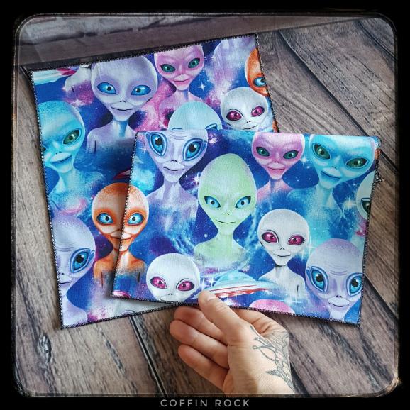 Alien cotton handkerchief
