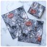 victorian halloween : mouchoirs en coton
