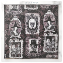 victorian portraits  cotton handkerchief