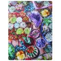 succulent garden cotton handkerchief