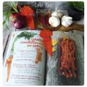 Marque page carotte