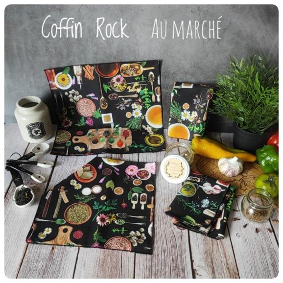 kitchen witch cotton handkerchief