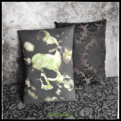 chained monster pillow