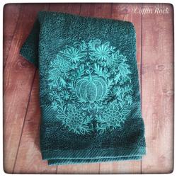 Witchy bath towel