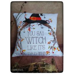 housse de coussin witch