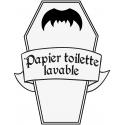 Washable toilet paper